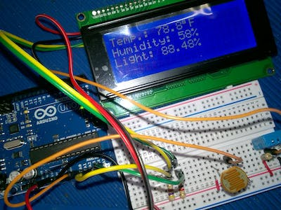 Introduction to Home Automation: Arduino Weather Station Lab