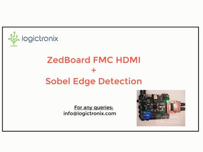 ZedBoard FMC HDMI Sobel Tutorial