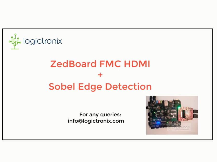 ZedBoard FMC HDMI Sobel Tutorial