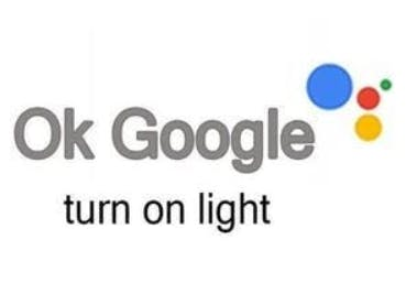 """Ok Google turn on the light""."