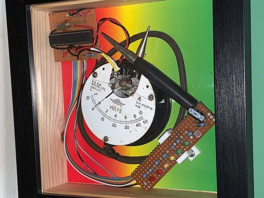Recycled Meter Artwork