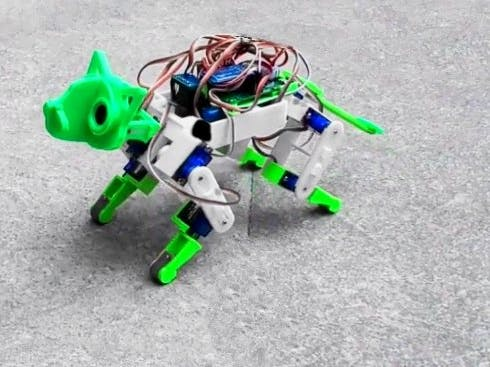 Arduino Robot Dog version 2.0 /#smartcreativity