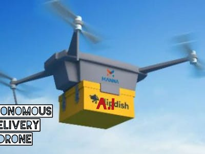 Autonomous delivery drone