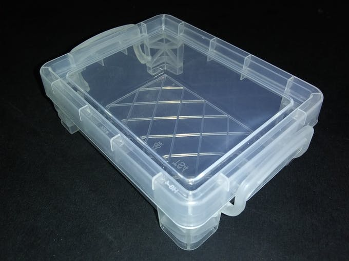 $1 Crayon Box to protect Sony Spresense and B-L072Z-LRWAN1