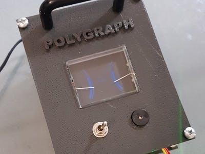 Nano Lie Detector Polygraph