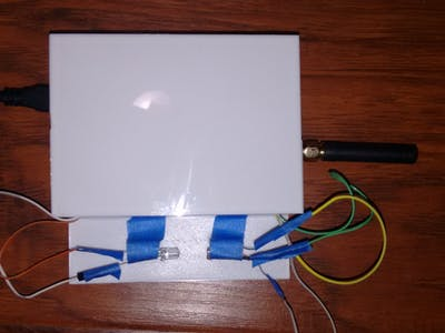 Dryer Lint Sensing Device