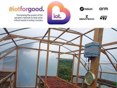 LoraWAN Natural Drying System in Post-Harvest Agriculture