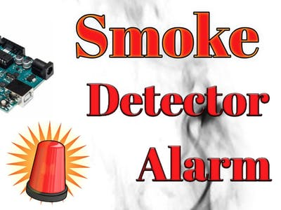 How to make Smoke Detector Alarm
