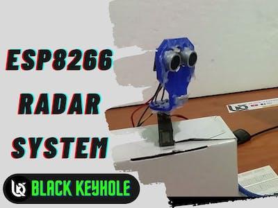 Esp8266 Radar system (IOT)