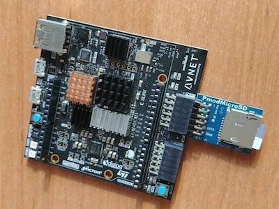 Minized PYNQ EMMC