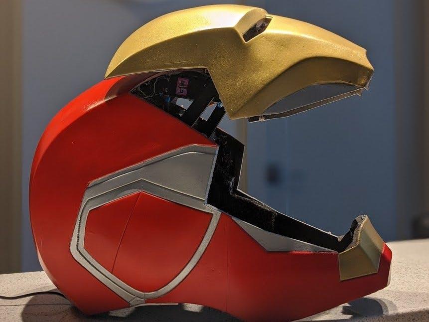 MK 85 Iron Man Electronic Faceplate