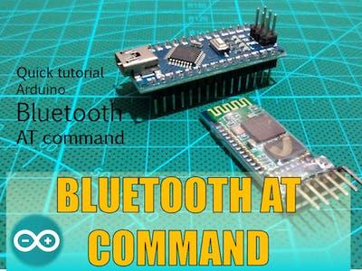 Bluetooth AT Commands Settings (HC05 HC06)