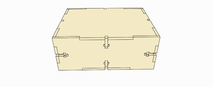 Figure 5 - Enclosure to put the Printed Circuit Board.