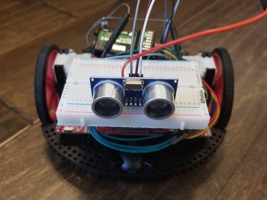 Remote Control Room Measuring Robot