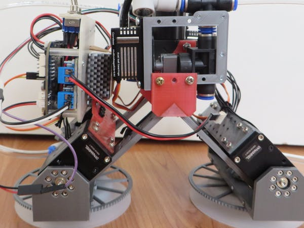 Naminukas Hybrid Pneumatic Wheel Robot Learns New Tricks