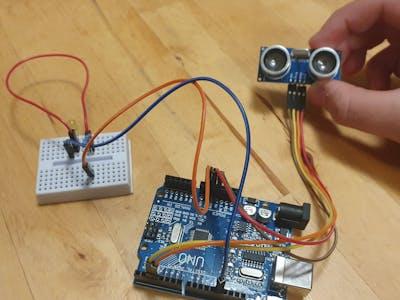 The Arduino social - distancing sensor