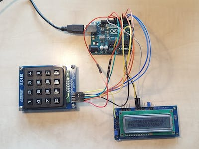 Using the Pmod KYPD and the Pmod CLS with Arduino Uno