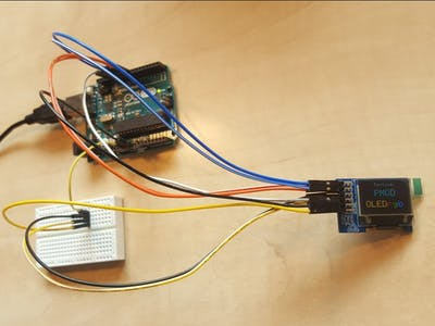 Using the Pmod OLEDrgb with Arduino Uno