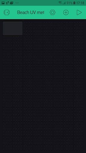 Widget value display - click on black box