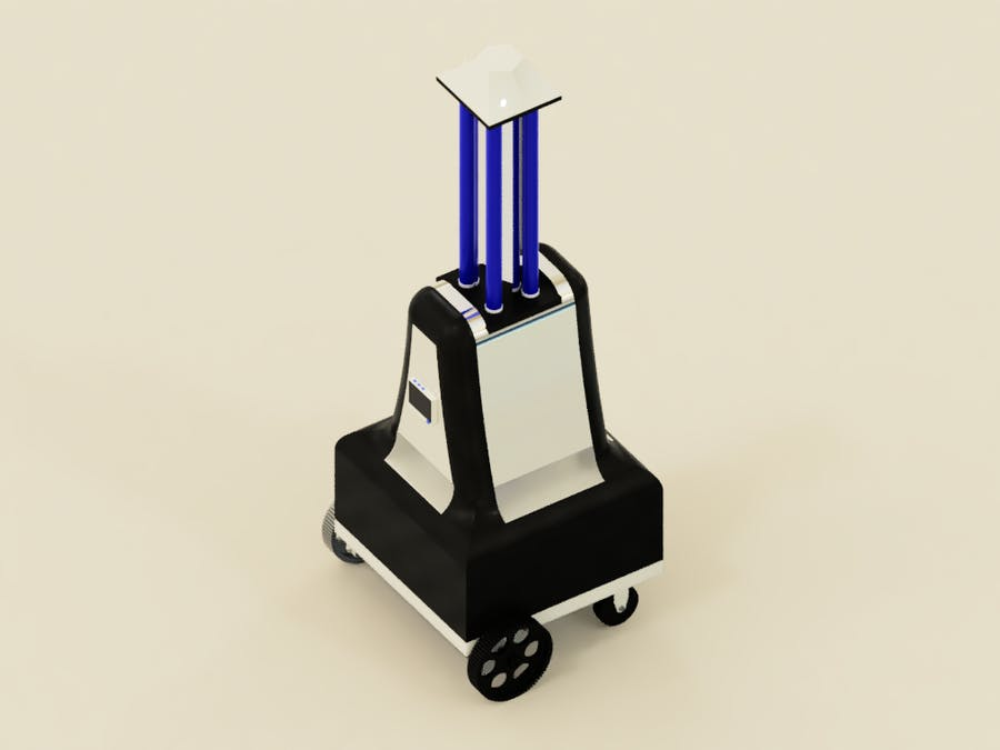 Autonomous UV Robot with SLAM