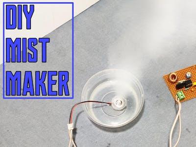 Diy mist/fog maker using ic 555