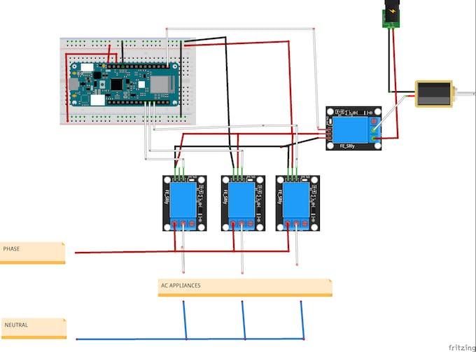 Relay modules with MKR wifi 1010