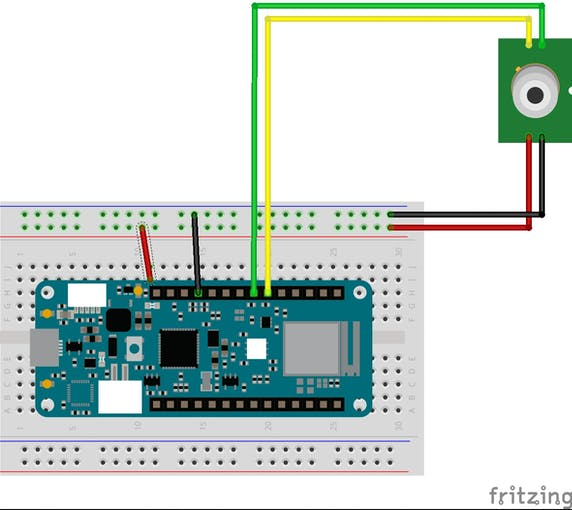 MLX90614 with MKR wifi 1010