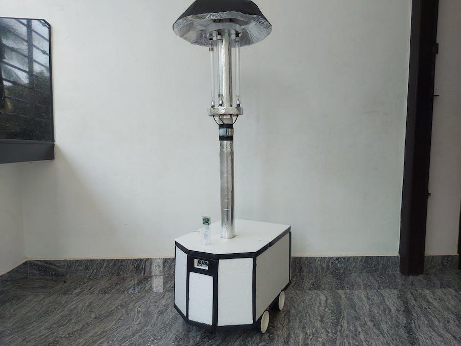 UV disinfection robot