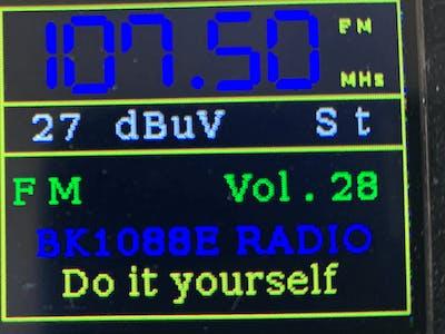 PU2CLR BK108X Arduino Library