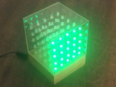 Another 5x5x5 RGB LED Cube