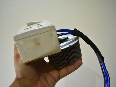 DIY 8800W Arduino AC Dimmer