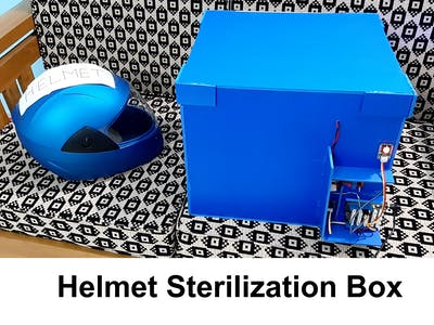 Helmet Sterilization Box