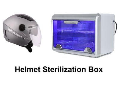 Con-tactless Helmet Sterilization Box
