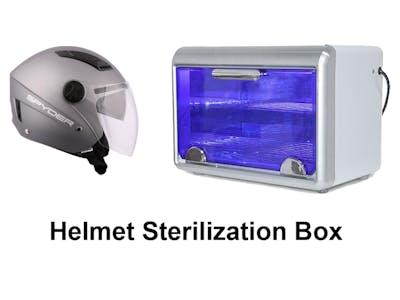 Con-tactless Helmet Sterilization Box