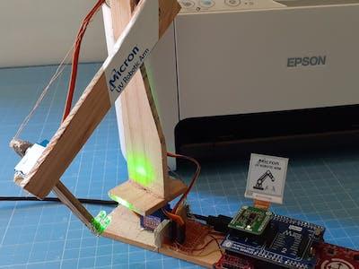 Micron UV Robotic Arm