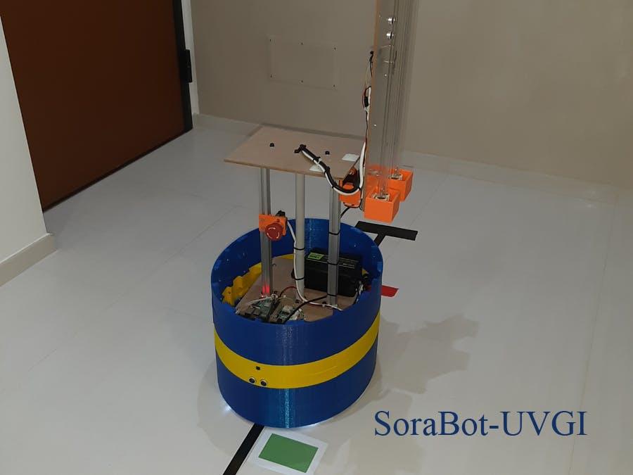 SoraBot-UVGI | Autonomous UVGI Robot