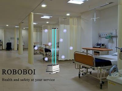 Roboboi - The intelligent UV sanitization Robot