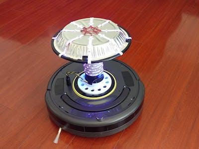 Roomba Pine UV Light Robot