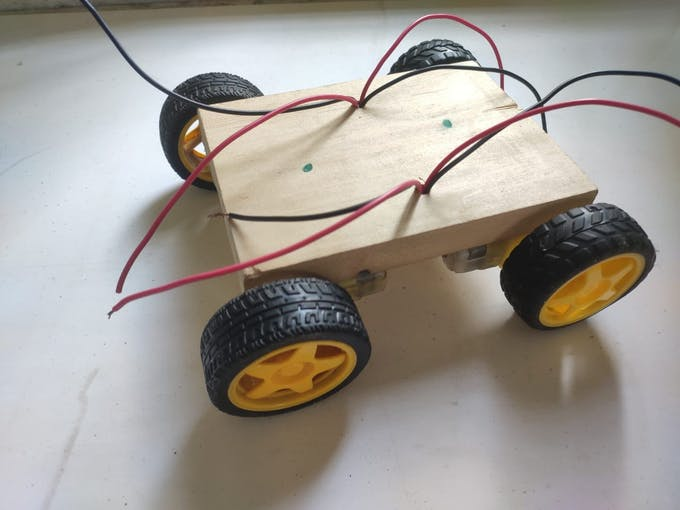 Join With Wood with wheels