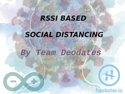 RSSI based Social Distancing