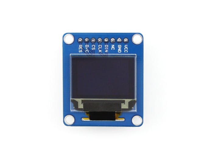 "0.95"" 96x64 color OLED"