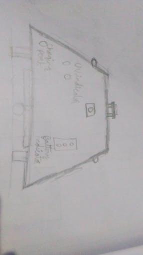 Rough sketch showing leds,PIR,Lidar