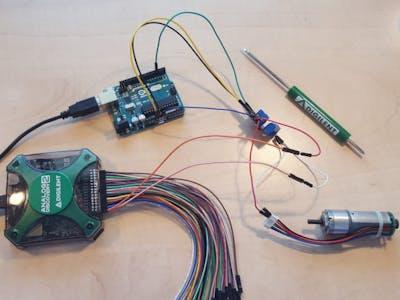 Using the Pmod OD1 with Arduino Uno