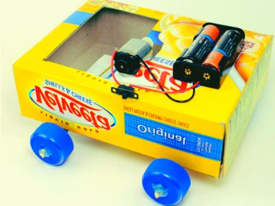 How to make a car using dc motor(12 steps with picture)
