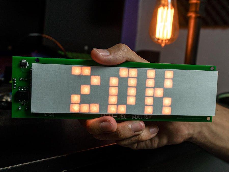 DIY SMART LED MATRIX (ESP8266 + WS2812 / NeoPixels )