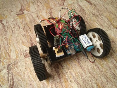 Mind Controlled Robot Using Arduino and Mindflex