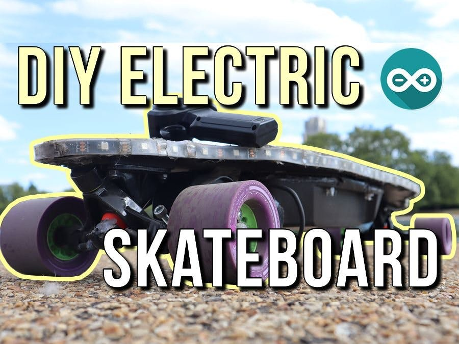 DIY Electric Skateboard – Using Arduino LEDs