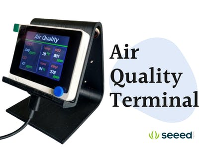 Air Quality Monitoring Station with Wio Terminal