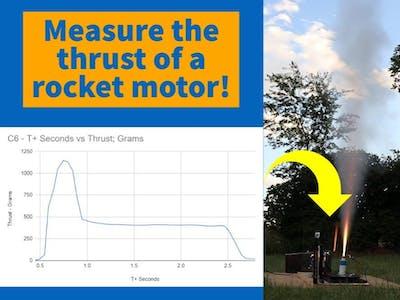 Model Rocket Motor Test Stand