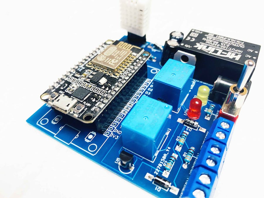 Google Assistant Voice Controlled Switch – NodeMCU IOT Proje